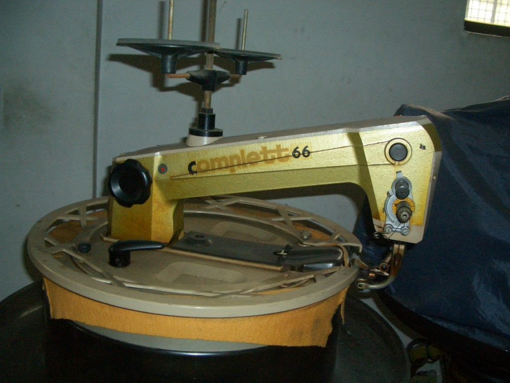 Disc machine